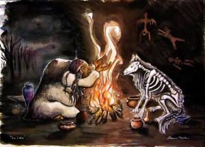 ontembare zijn inwijdingspad lien van camp martine hertogs wilde wortels vertellen verhalen sjamanisme creatieve werkvormen storytelling