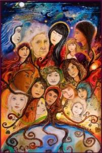 voormoeders sisterroots vrouwencirkel ontembare vrouw verhalenvertelster verhalen lien van camp wilde wortels gather the women