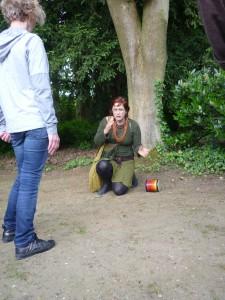 Vertelwandeling keltisch lien van camp Zelem